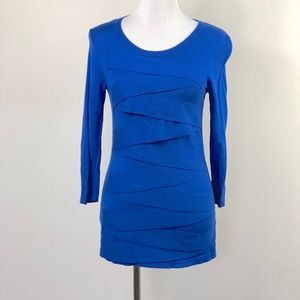 Vince Camuto Layered Front Sweater